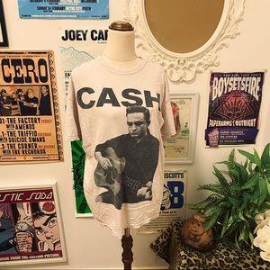 Johnny Cash Vintage style TShirt 100% cotton